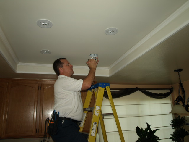 Dos Vientos Lighting Recessed Lighting Installation